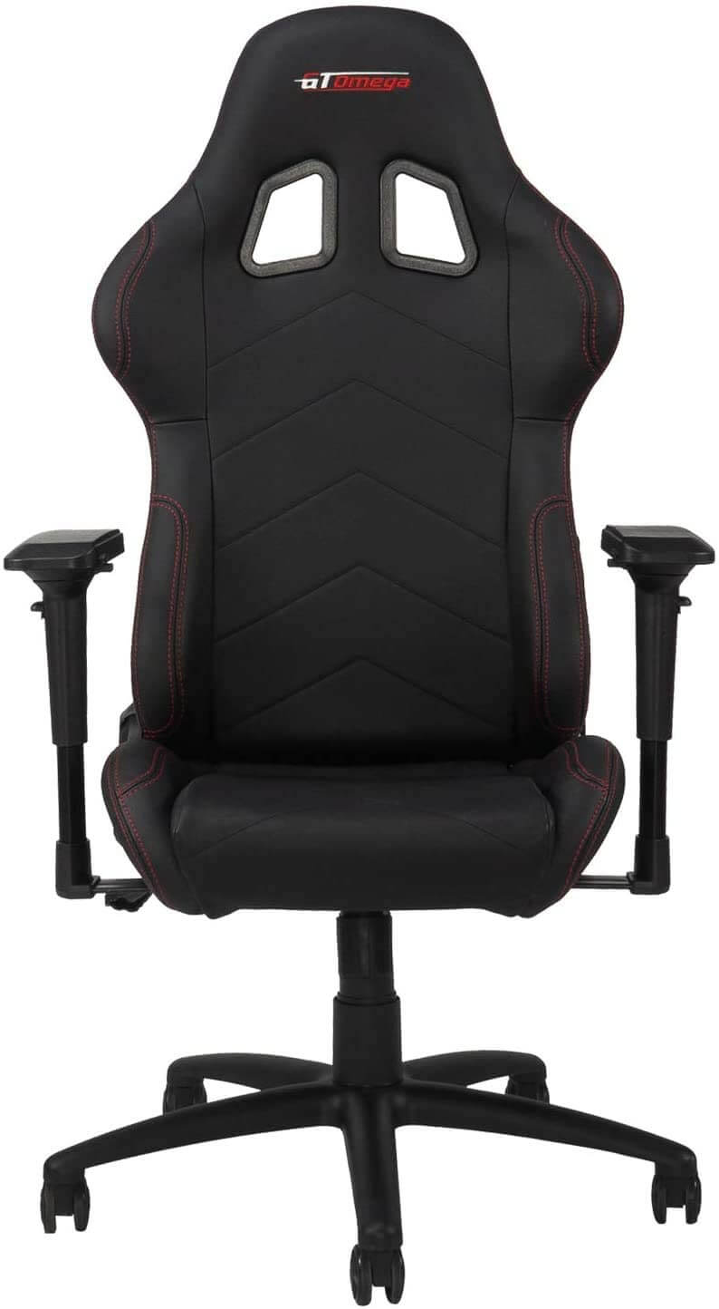 GT OMEGA PRO chair with 4D armrests