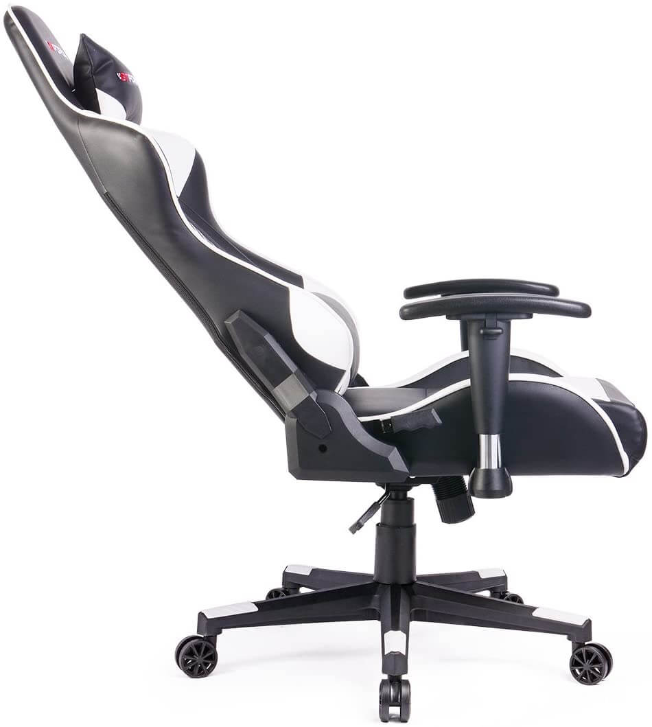 GTFORCE PRO ST gaming leather chair with reclining tilt function