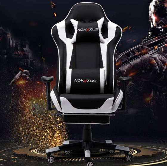 NOKAXUS with high quality lumbar and head support