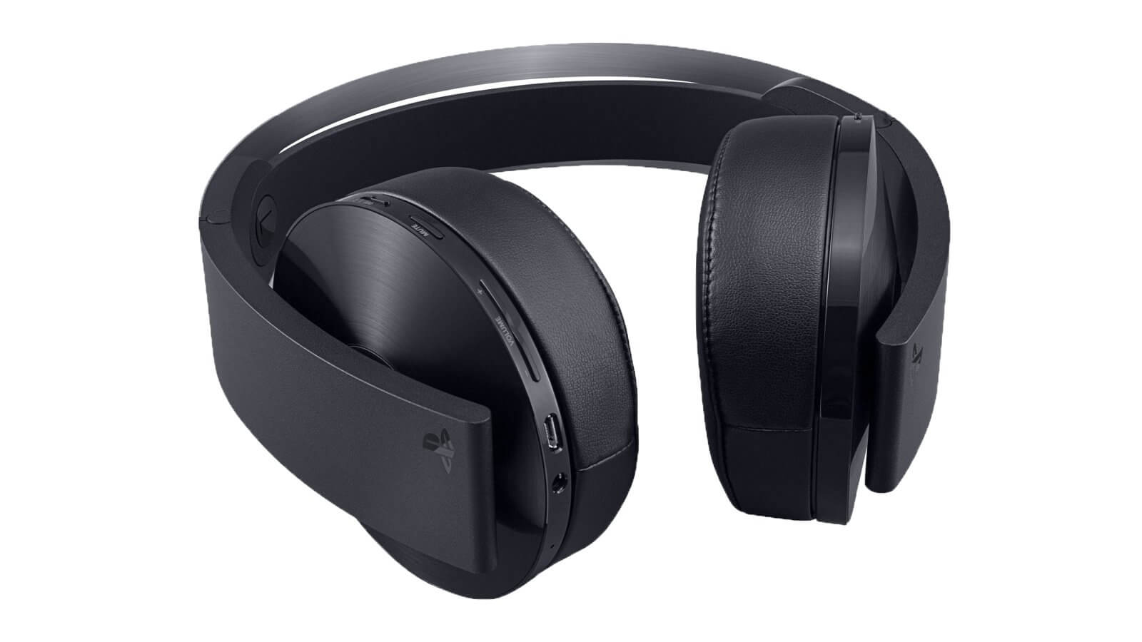 Sony PS4 platinum headphone with 3D Audio technology