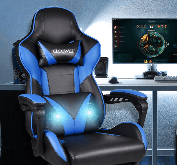 YOURLITEAMZ cheap Gaming Chair with Massage