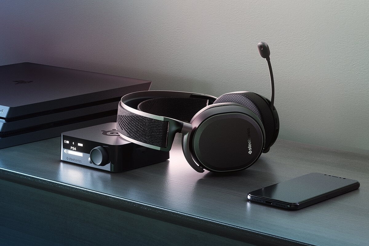 arctic pro ps4 headset with dual-battery system