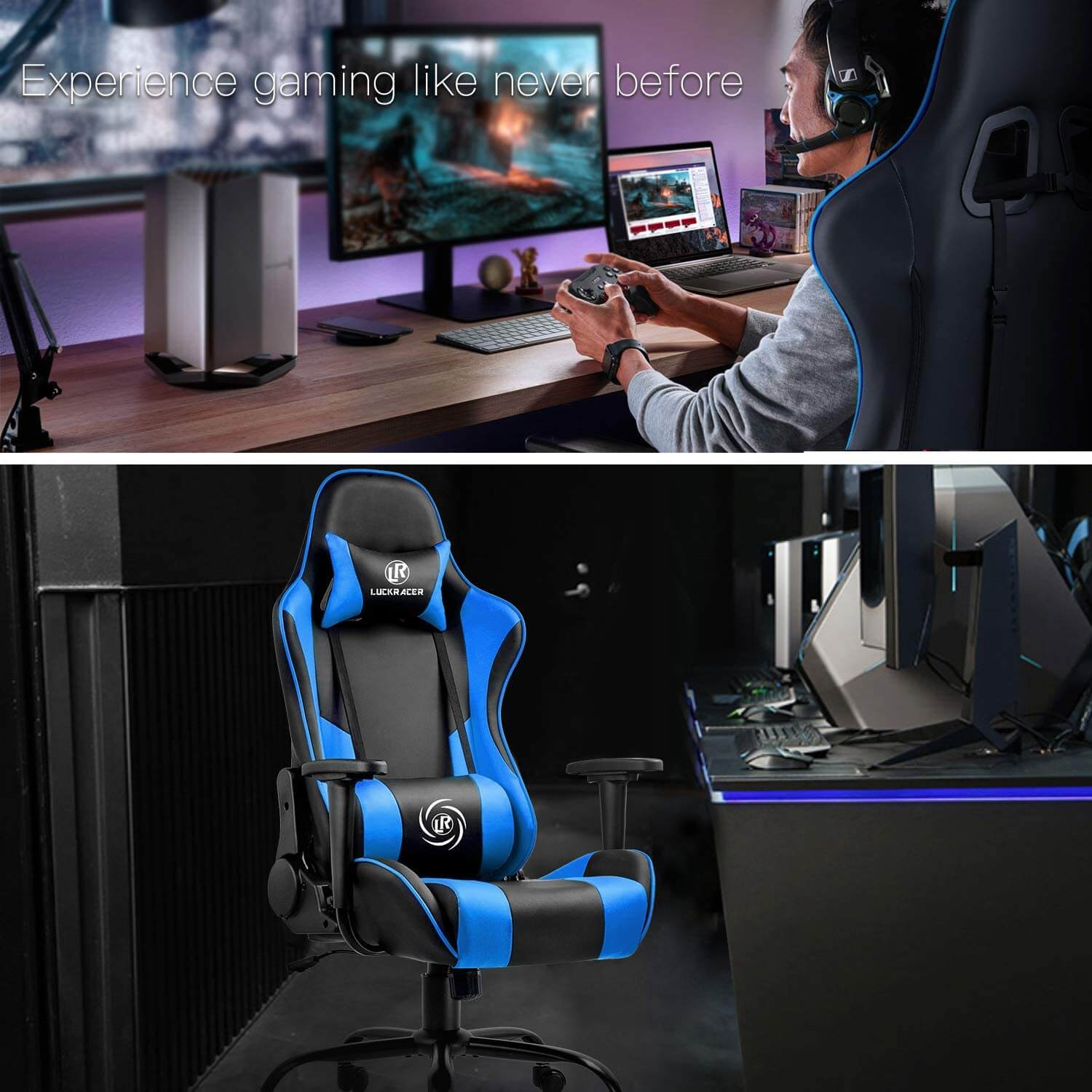 luckracer chair with 360 Degree Swivel for 100 GBP