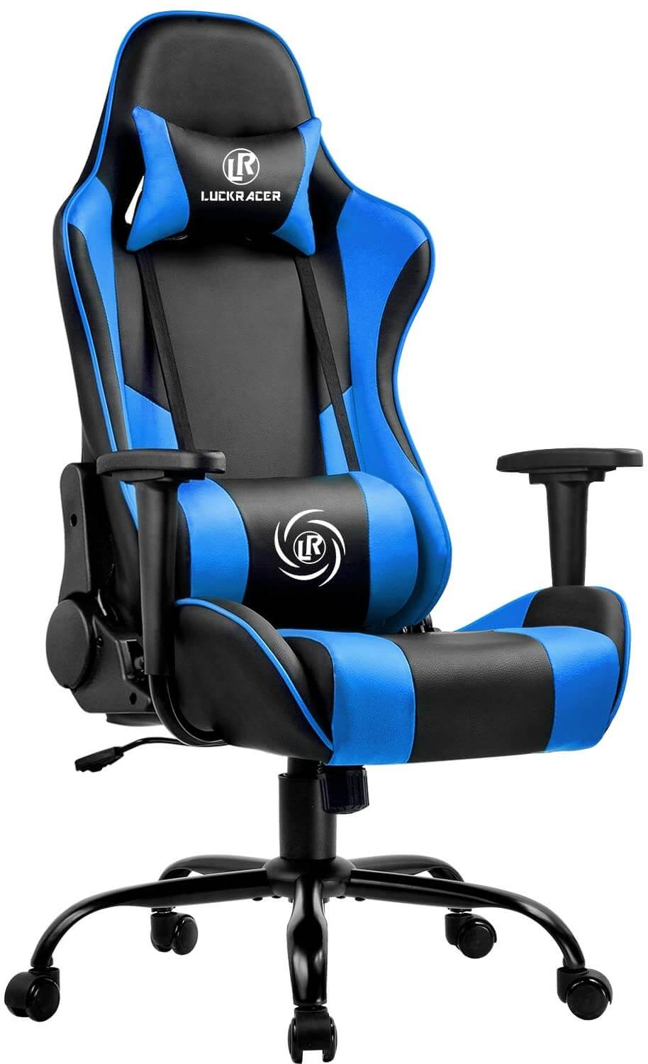 luckracer gaming chair for long hours of comfort gameplay