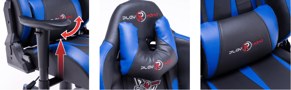 play haha gaming chair with High-end 3D armrest